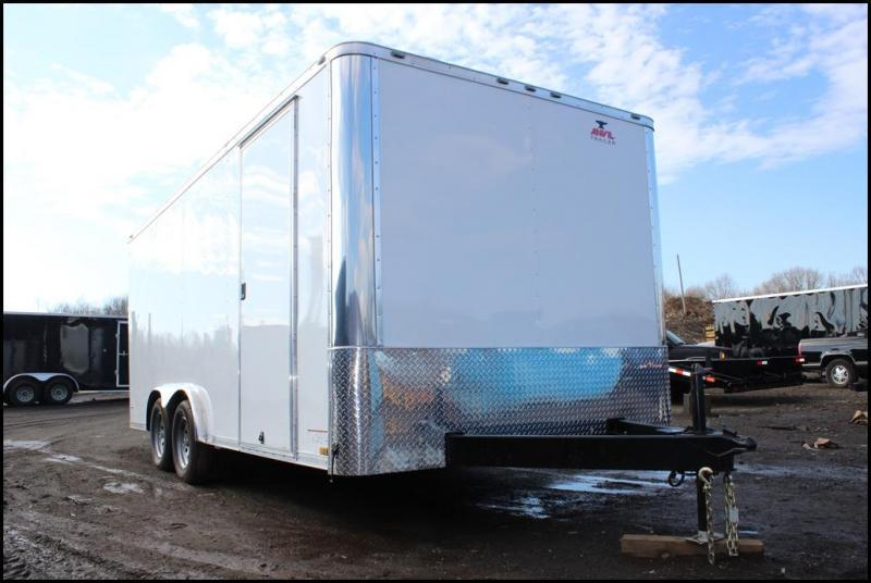 2021 Anvil 8x16 Enclosed Cargo Trailer
