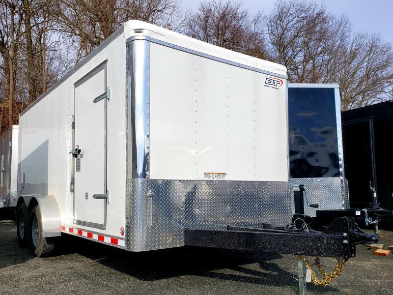 2021 Bravo Star 7x16 10K Enclosed Landscape Trailer