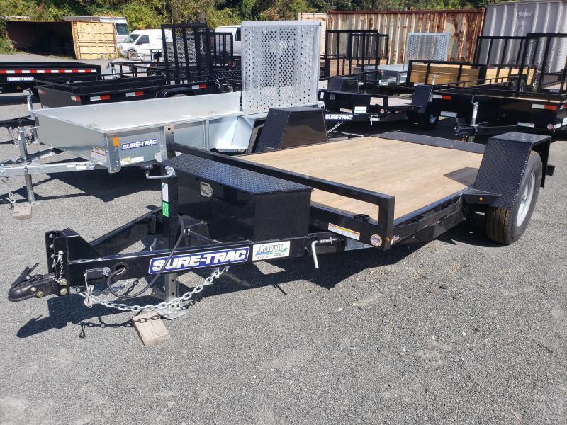 2021 Sure-Trac 6.5x12 7.8K Single Axle Tilt Equipment Trailer
