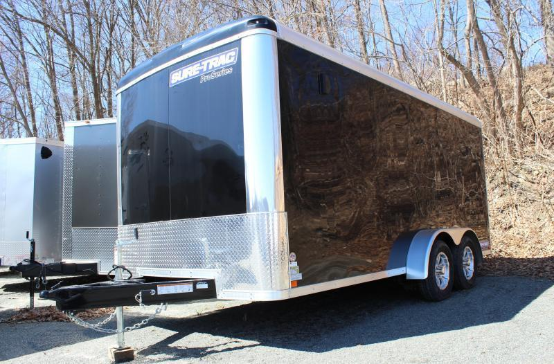 2021 Sure-Trac 7x16 Pro Series Round Top Enclosed Cargo Trailer