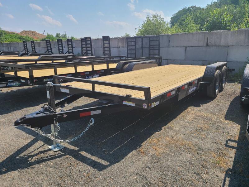 2021 Sure-Trac 7x20 10K Wood Deck Car Trailer