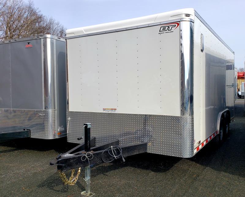2021 Bravo Star 8.5x16 10K Enclosed Landscape Trailer