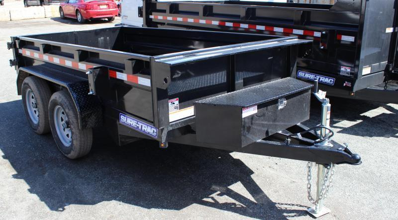 2021 Sure-Trac 5X10 7K Low Profile Homeowner Dump Trailer