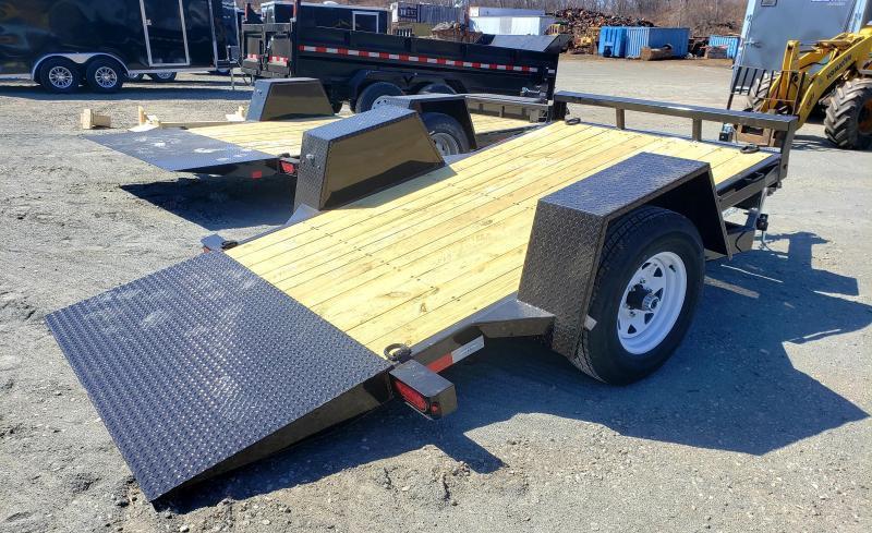 2022 Sure-Trac 5X10 6K Single Axle Tilt Bed Equipment Trailer