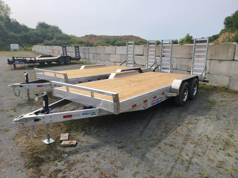 2021 Sure-Trac 7x18 10K ALUMINUM Implement Equipment Trailer