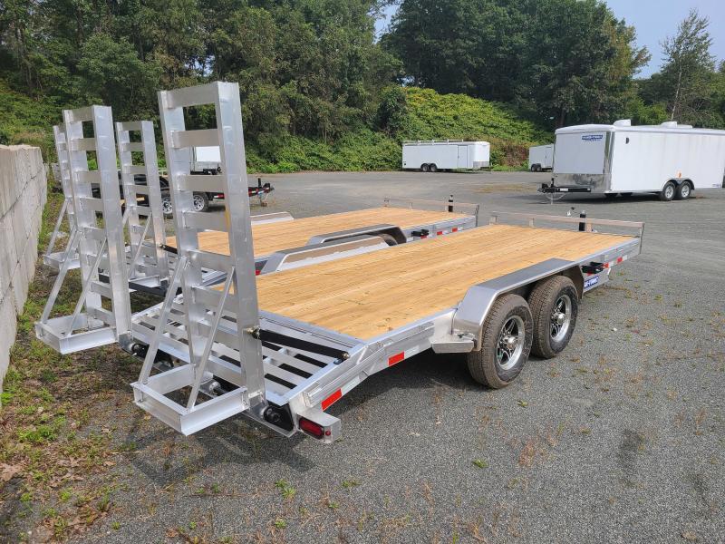 2021 Sure-Trac 7x18 10K ALUMINUM Implement Equipment Trailer