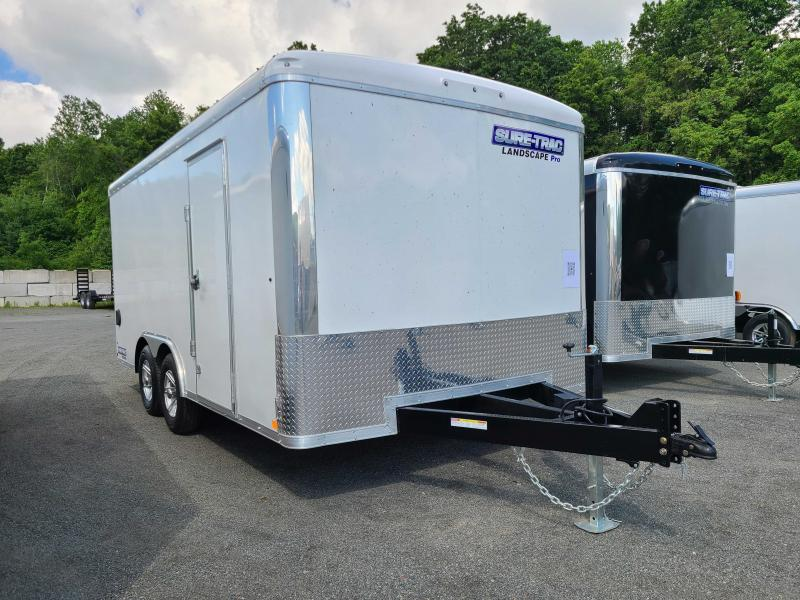 2021 Sure-Trac 8.5x16 10K Landscape Pro Enclosed Cargo Trailer