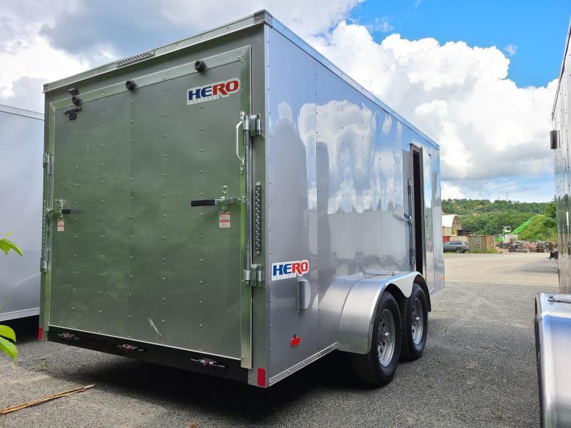 2021 Bravo HERO 7x14 Enclosed Cargo Trailer