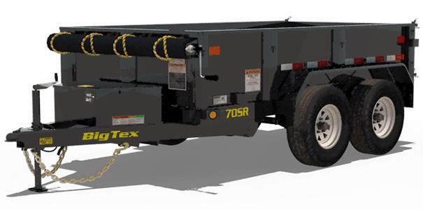 2022 Big Tex Trailers 5x10 7K 70SR Dump Trailer