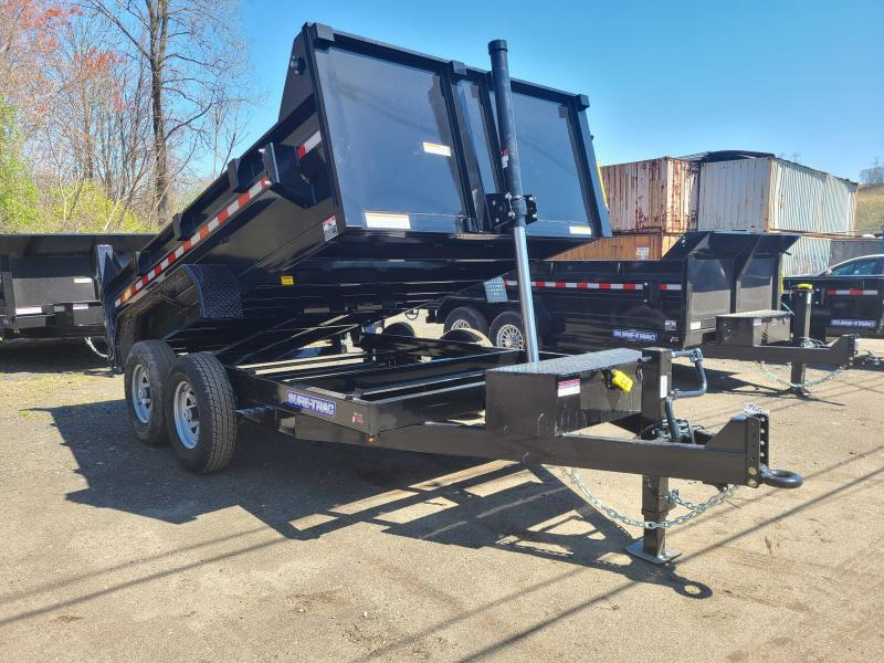 2021 Sure-Trac 7x12 14K Low Profile Dump Trailer [TELESCOPIC]