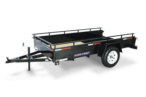 2021 Sure-Trac 6x12 Steel High Side Utility Trailer