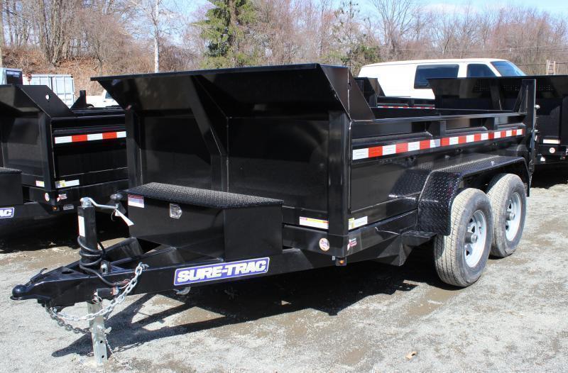 2021 Sure-Trac 6x12 10K Low Profile Dump Trailer