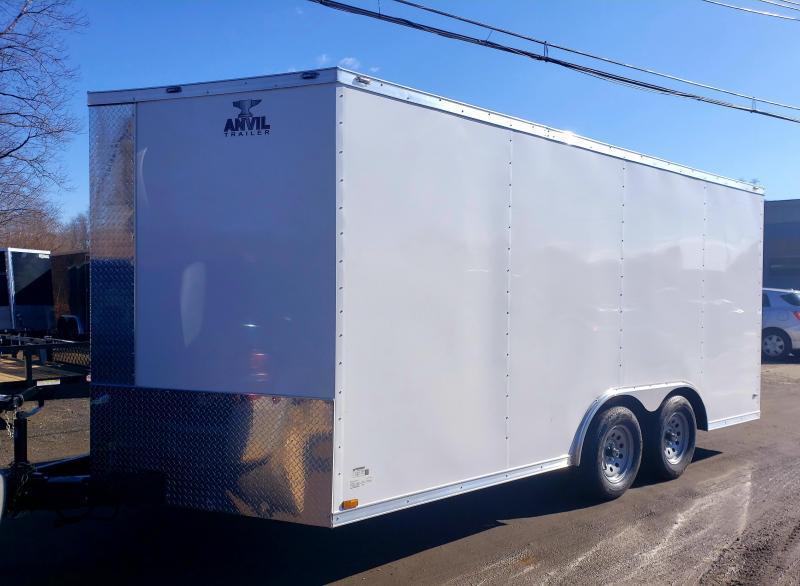 2021 Anvil 8.5x16 7K Enclosed Car Hauler Trailer