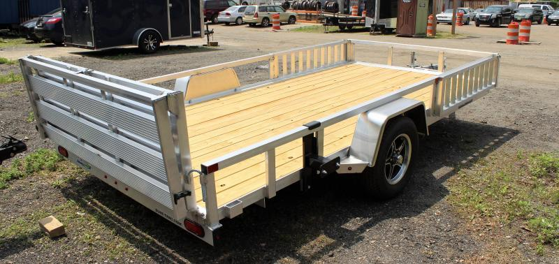 2021 Sure-Trac 7x14 ALUMINUM ATV Tube Top Utility Trailer