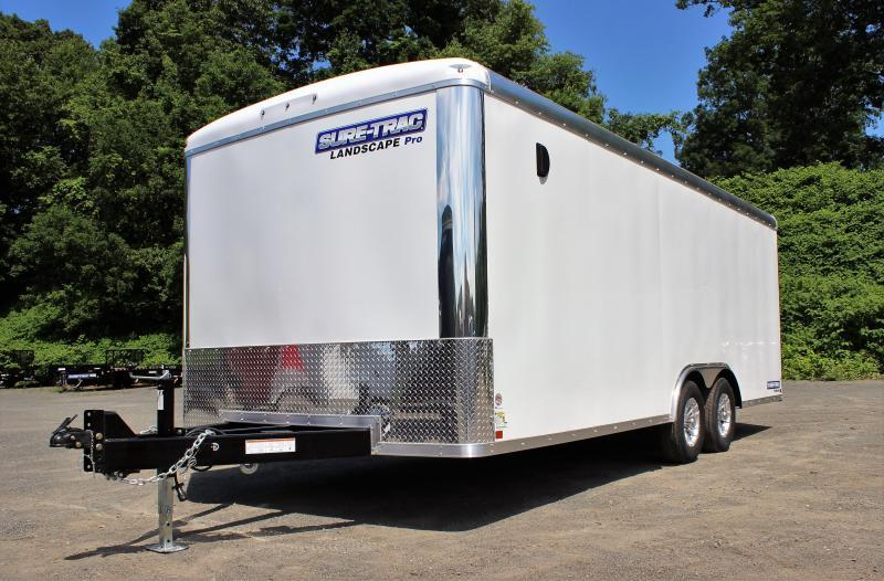 2021 Sure-Trac 8.5x20 10K Landscape Pro Enclosed Cargo Trailer