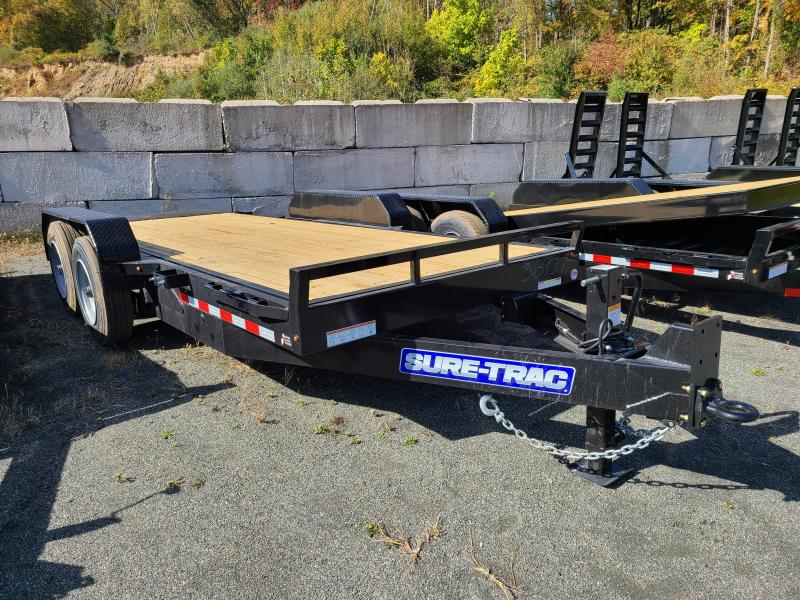 2021 Sure-Trac 7x18 16K Tilt Equipment Trailer