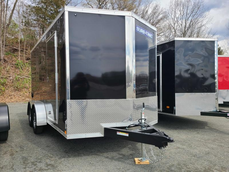 2021 Sure-Trac 7x14 Enclosed PRO SERIES WEDGE Cargo Trailer