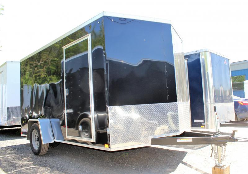 2021 Sure-Trac 7x12 ST Series Wedge Front Enclosed Cargo Trailer