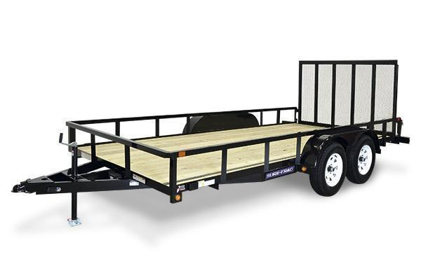 2021 Sure-Trac 7x20 10K Tube Top Utility Trailer