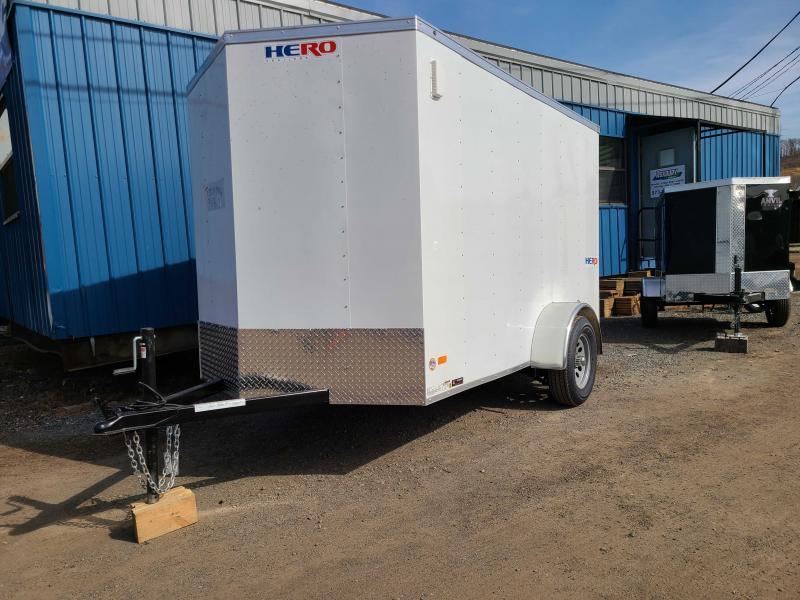 2022 Bravo HERO 6X10 Enclosed Cargo Trailer