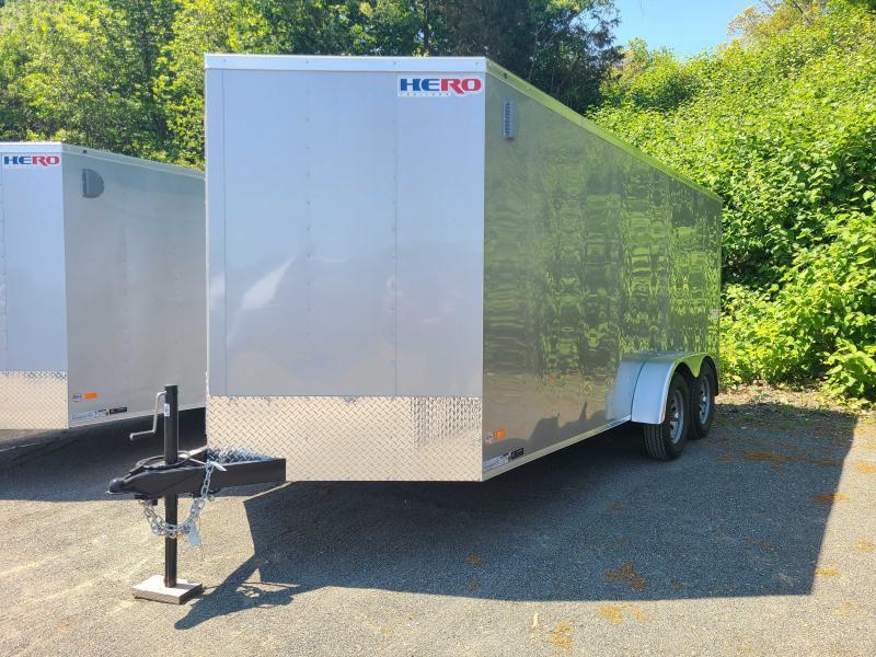 2021 Bravo HERO 7x16 Enclosed Cargo Trailer