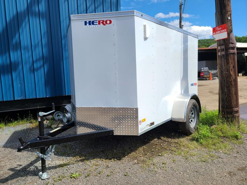 2021 Bravo HERO 5X8 Enclosed Cargo Trailer