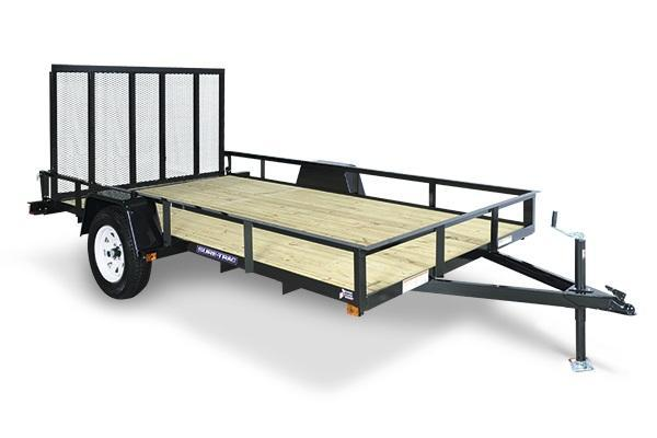 2021 Sure-Trac 5x8 Angle Iron Utility Trailer