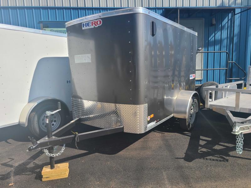 2022 Bravo HERO 5X8 Enclosed Cargo Trailer