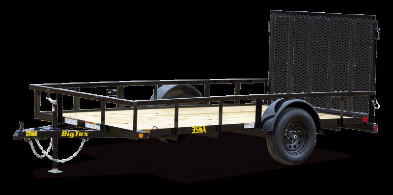 2022 Big Tex Trailers 7x12 35SA-X Utility Trailer
