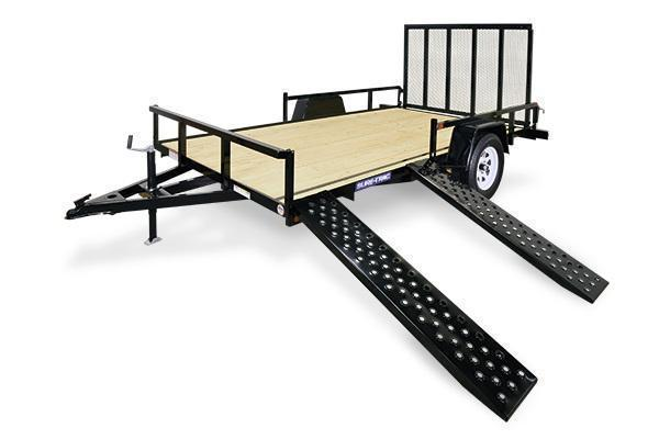 2021 Sure-Trac 7x12 ATV Tube Top Utility Trailer