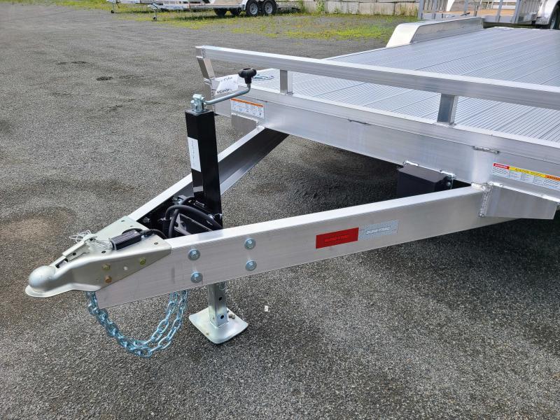 2021 Sure-Trac 7x18 10K Aluminum Car Hauler Trailer