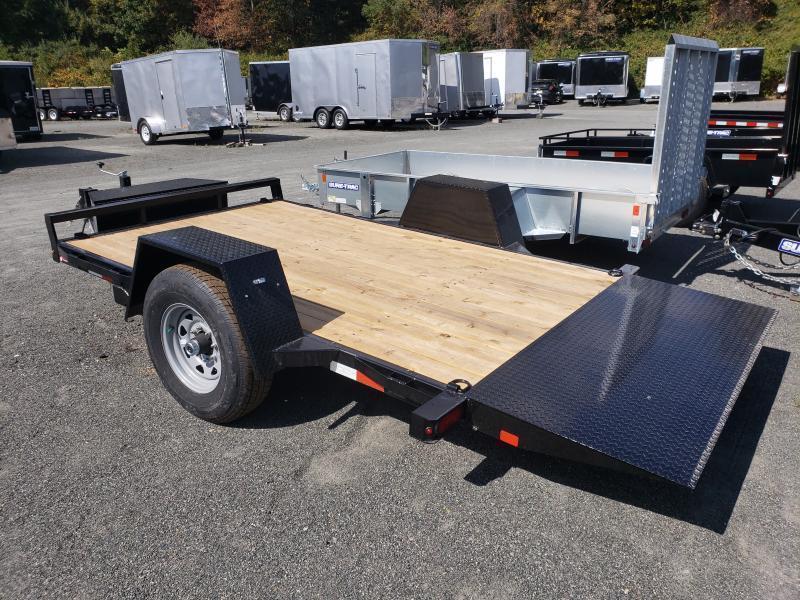 2022 Sure-Trac 6.5x12 7.8K Single Axle Tilt Equipment Trailer