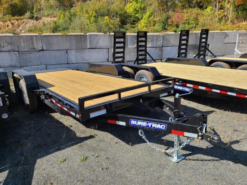 2022 Sure-Trac 7x18 14K Tilt Equipment Trailer
