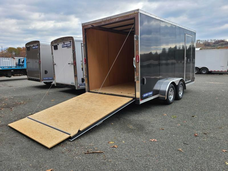 2021 Sure-Trac 7x16 Enclosed PRO SERIES WEDGE Cargo Trailer [UTV PKG]