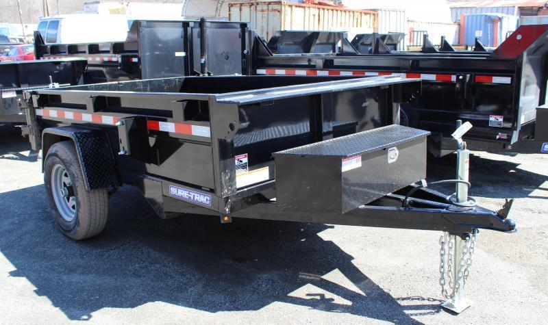 2021 Sure-Trac 5x8 5K Homeowner Dump Trailer