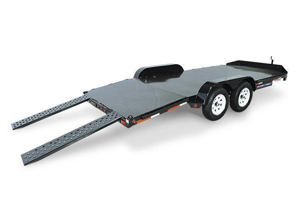 2021 Sure-Trac 7x20 10K Steel Deck Car Trailer