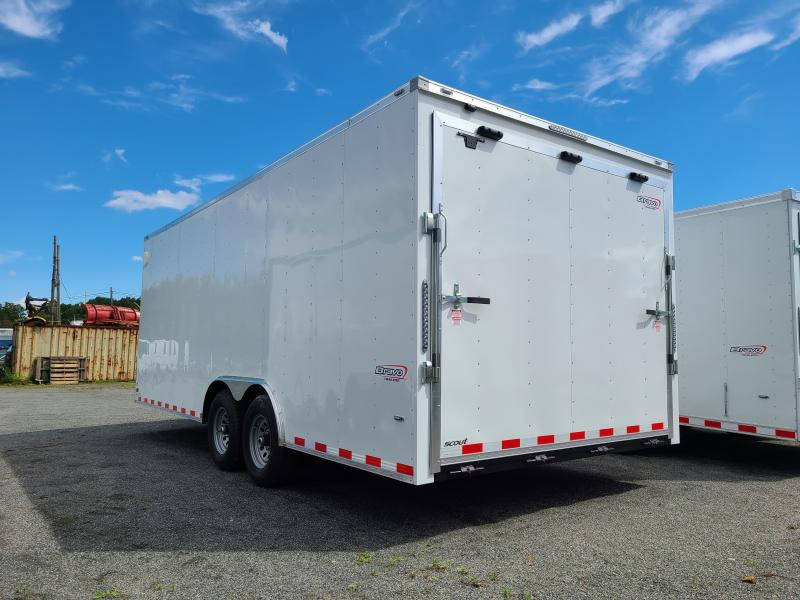2021 Bravo Trailers Scout 8.5x20 10K Enclosed Car Hauler Trailer