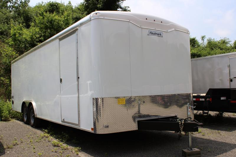 2020 Haulmark 8.5x24 Enclosed Car Hauler Trailer