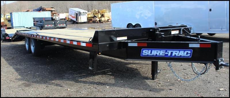 2020 Sure-Trac 8.5x20+5 17.6K Deckover Equipment Trailer