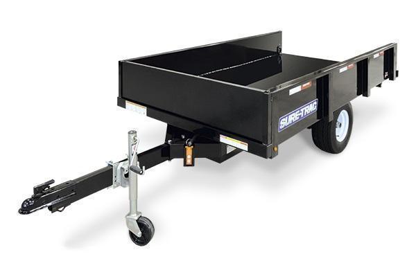 2021 Sure-Trac 4.5x8 3K Dump Trailer