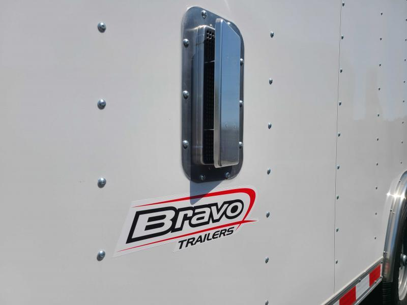 2021 Bravo Star 8.5x20 10K Enclosed Landscape Trailer