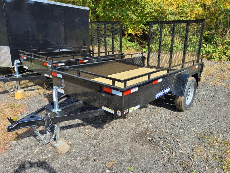 2022 Sure-Trac 5x10 Steel High Side Utility Trailer