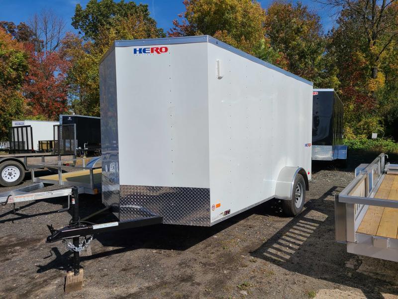 2022 Bravo HERO 6X12 Enclosed Cargo Trailer