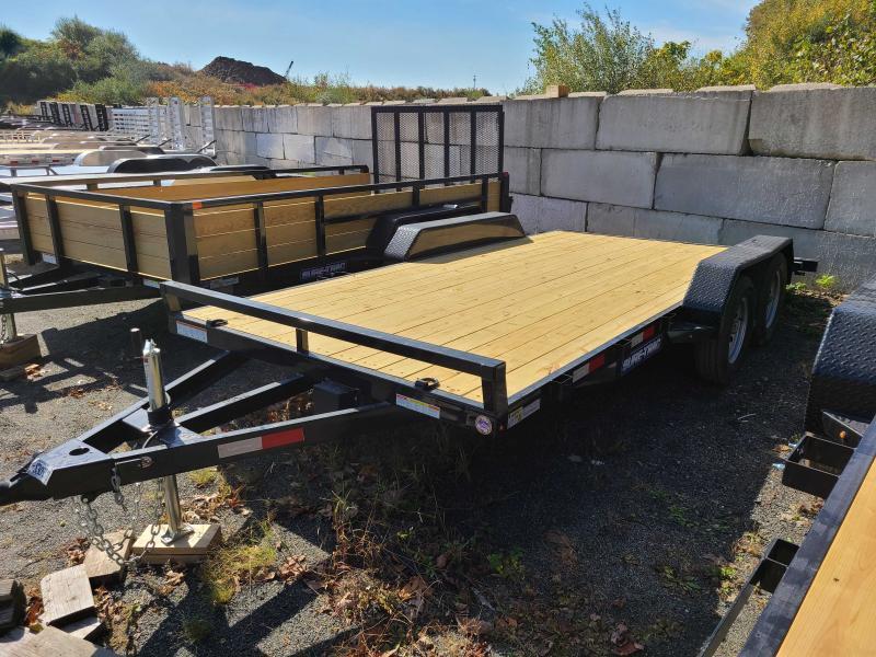 2021 Sure-Trac 7x16 7K Wood Deck Car Trailer