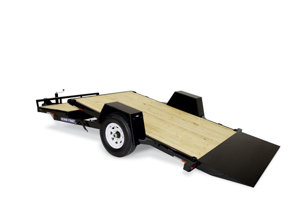 2022 Sure-Trac 6.5x12+4 7.8K Single Axle Tilt Equipment Trailer
