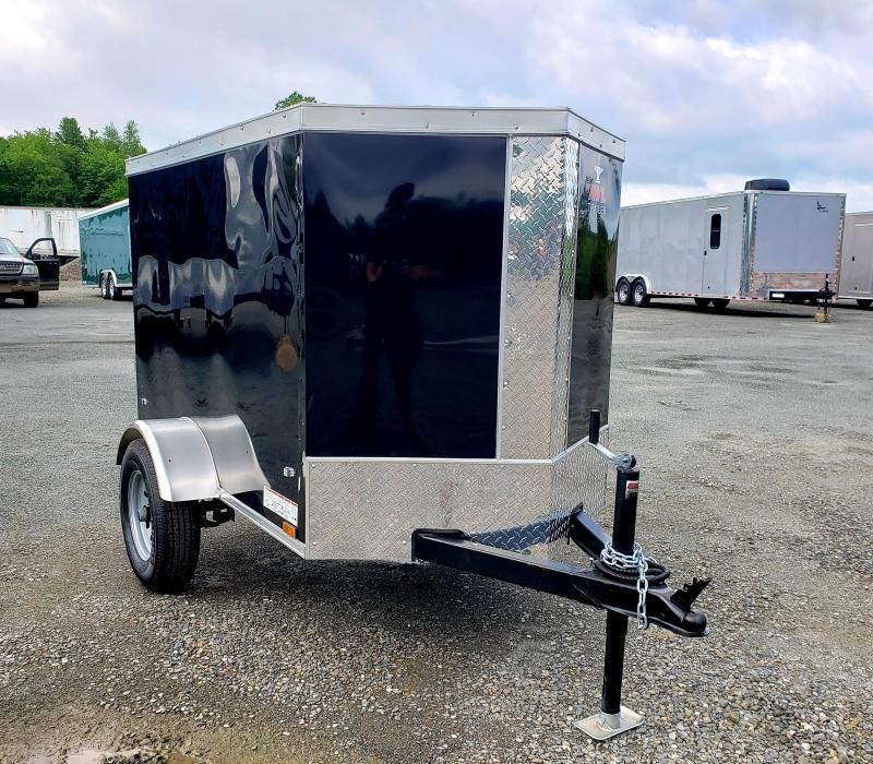2021 Anvil 4X6 Enclosed Cargo Trailer