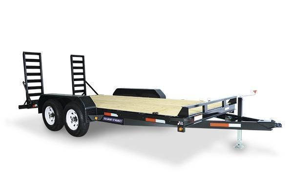 2021 Sure-Trac 7x16 14K Implement Equipment Trailer