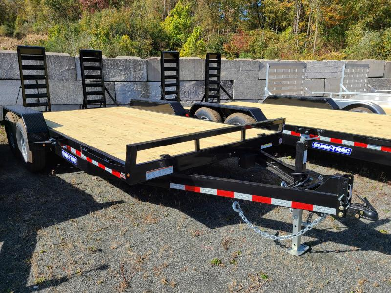 2021 Sure-Trac 7x16 14K Implement Equipment Trailer