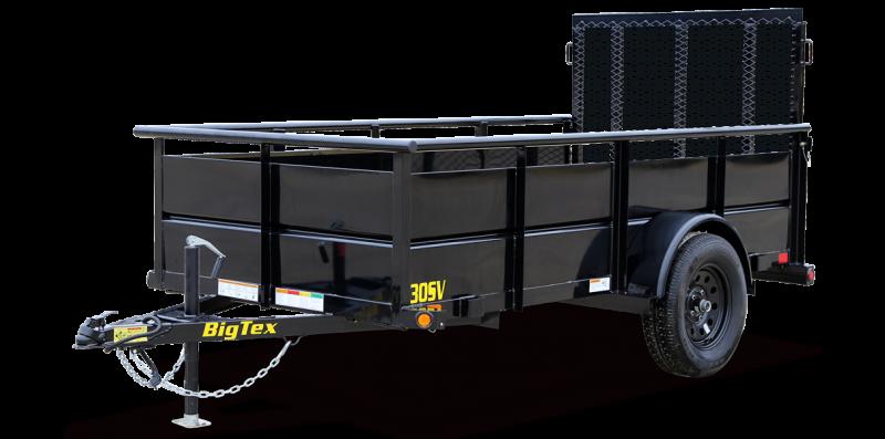 2022 Big Tex Trailers 5x10 30SV Utility Trailer