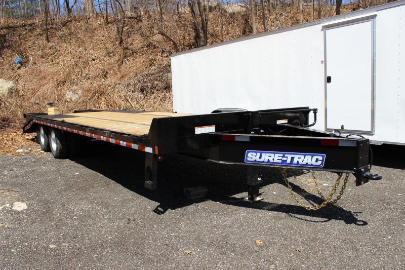 2021 Sure-Trac 8.5x20+5 26K Beavertrail Deckover Equipment Trailer